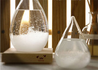 CT-578 Storm drops bottle storm Glass Hourglass bottle Creative Weather Forecast Bottle