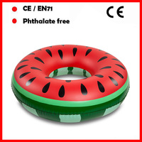 factory sale watermelon design swimming rings for kids and adults