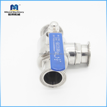 Hot Product 2 way Tri-clamp mini stainless ball valve
