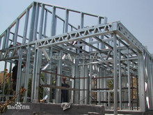 Light gauge steel frame prefabricated villa house