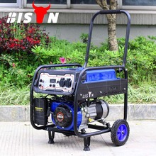 BISON CHINA Factory Price AC Single Phase Portable Petrol Engine 2500W 2.5KW 2.5KVA 6.5hp Gasoline Generator 2500