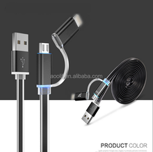 mobile phone LED flashing cable/usb data cable for samsung mobile phone