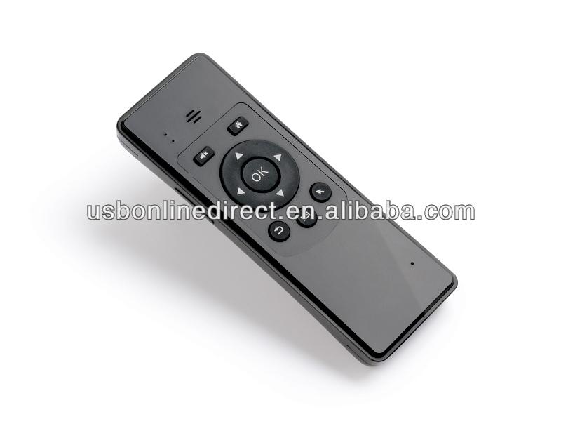 Radio frequencty gyroscope air mouse presenter for google tv box air fly mouse