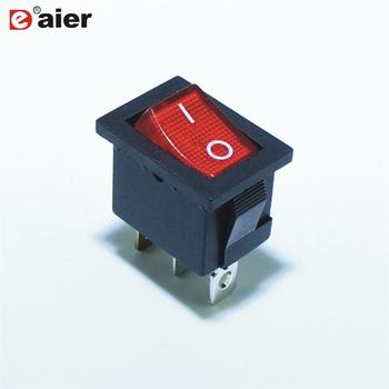 Illuminated T85 Rocker Switch With Handle