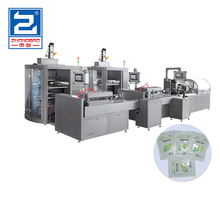 Electronic weighing automatic medical pharmaceutical packaging cartoning machine production line for granule