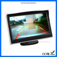 5inch stand alone TFT LCD car rear view monitor