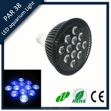 12x3w led coral reef aquarium light for salt water marine tank