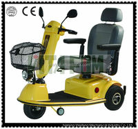 Three Wheel Anti-slip Electric Mobility Scooter (Taiwan Motor & PG Controller) with CE