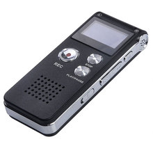 8GB 650HR Digital Audio Dictaphone MP3 Music Player Voice Recorder