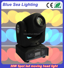 cheap 30w led moving heads simple stage lighting nightclub light