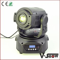Best selling high brightness moving head led lighting mini disco club 90w led moving head spot stage lighting for Christmas