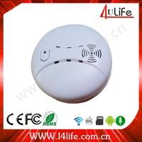 Smoke Detector Working with home alarm IP camera