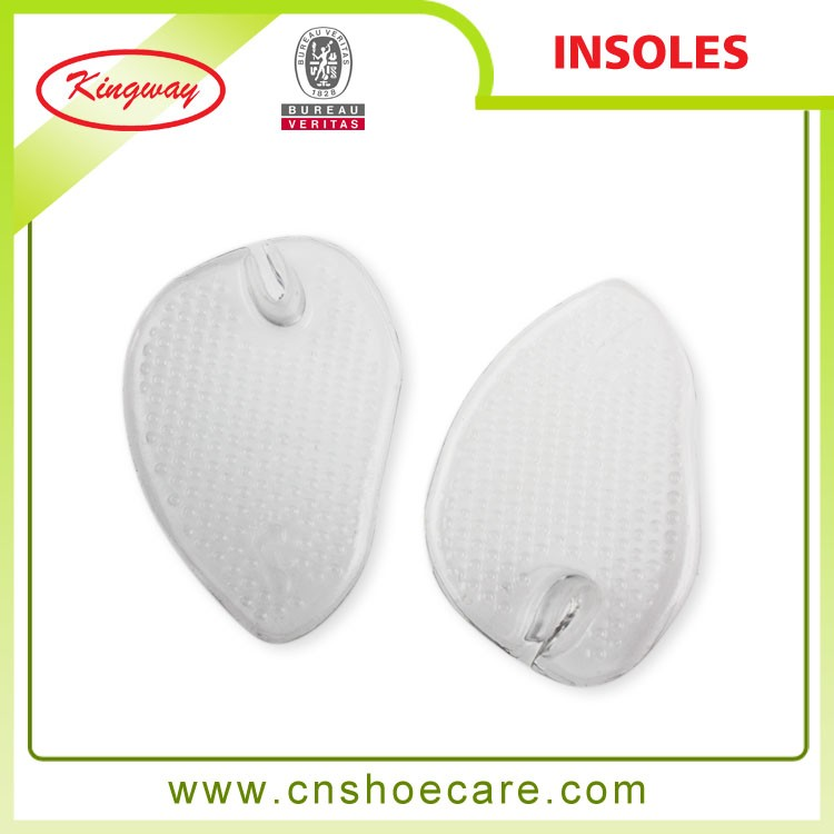Services for You Silicone Thong Sandals Forefoot Insoles, with Toe Post Cushions