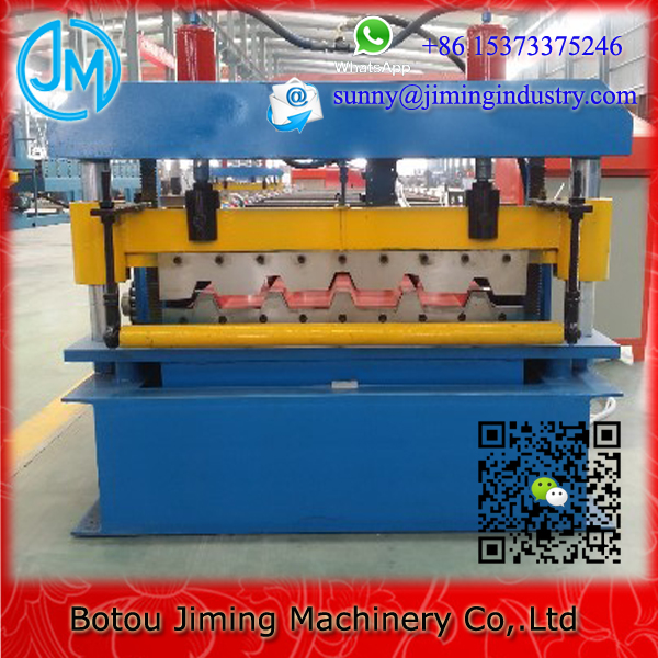 High performance manual roof tile making machine/metal roofing roll forming machine/minium roofing sheet making machine