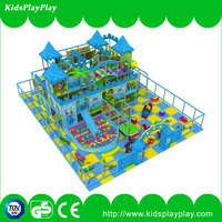Special professional kids indoor play equipment water bed