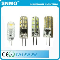 ce rohs smd 12v led g4 g9 lamp