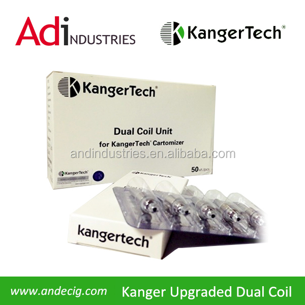 Kanger T3D Clearomizer Dual Coil 1.5 ohm Genuine Kangertech, A&D is an Authorized Reseller.