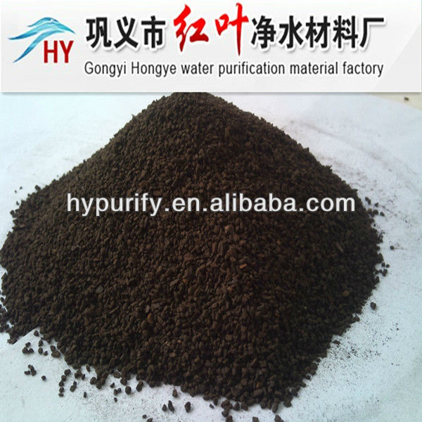 1-2mm/best filter material remove Fe and Mn/MANGANESE SAND FILTER