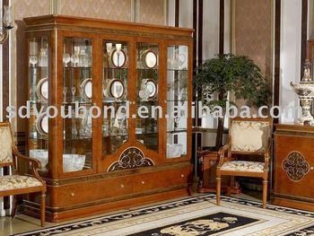 Italia Diseño De Alta Gama Muebles Antiguos 0031 Vitrina - Buy Product on Ali...