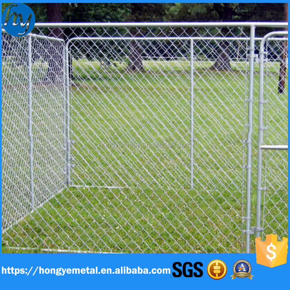 Large Outdoor Chain Link Box Durable Enclosure For Dogs