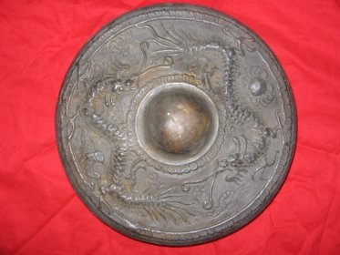 Authentic Heavy Brass Gong Chinese Brunei, Borneo