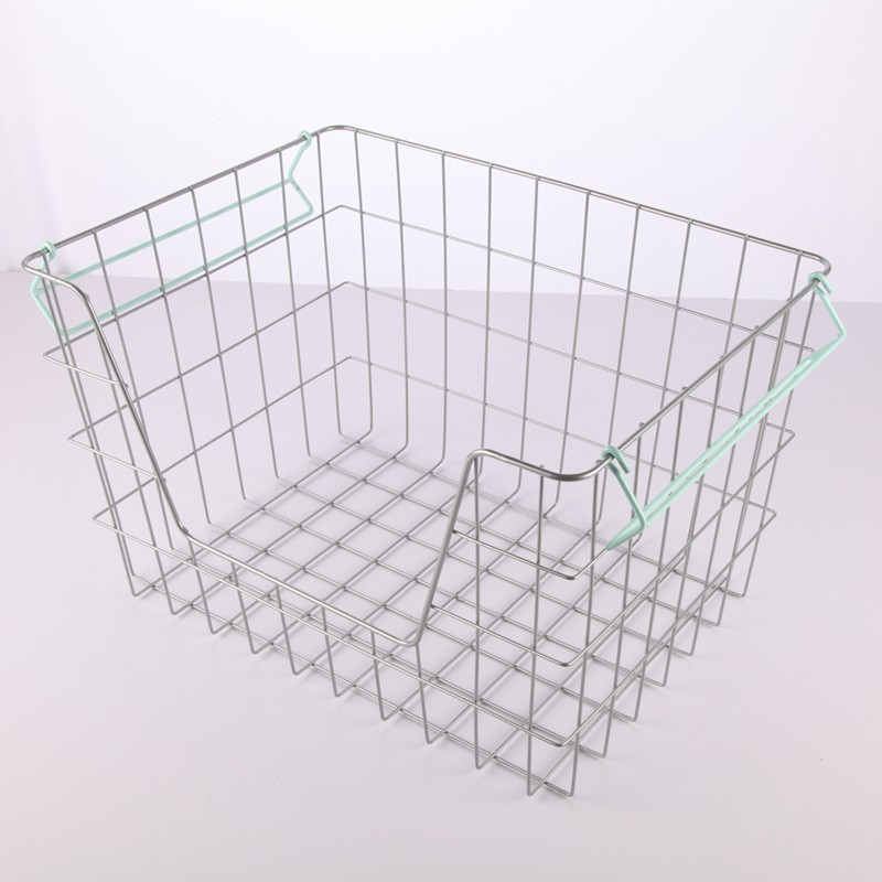 Wholesale useful heavy duty wire fish basket made of iron