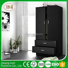 laminate wardrobe doors/double color wardrobe/wardrobe with drawer