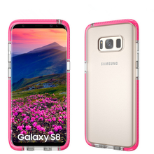 Colorful TPU full cover case for Samsung Galaxy S8 S8 Plus Clear TPU back cover for Samsung S8/S8 Plus