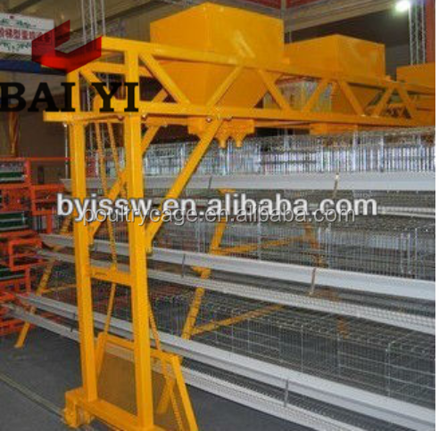 Baiyi Sale Feed Mill And Automatic Feeding For Halal Poultry Farm