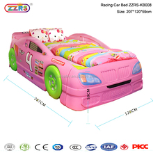 sports car cartoon bed children bedroom plastic wood kid bed furniture
