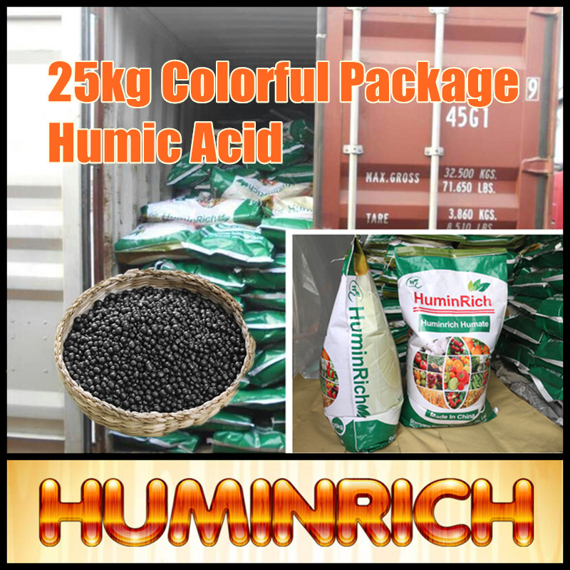 Huminrich 1kg Colorful Package High Active Granular Humic Acid Fertilizer For Pineapple
