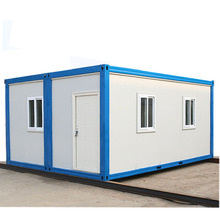 popular selling container coffee shop modular slope roof flat roof prefabricated house concrete prices geodesic domes