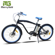 2015 new cheap 26 inch electric beach cruiser bicycle for sale