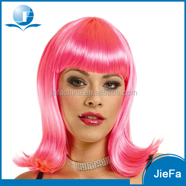 2016 New Design of Premium Quality Cheap Red Wig