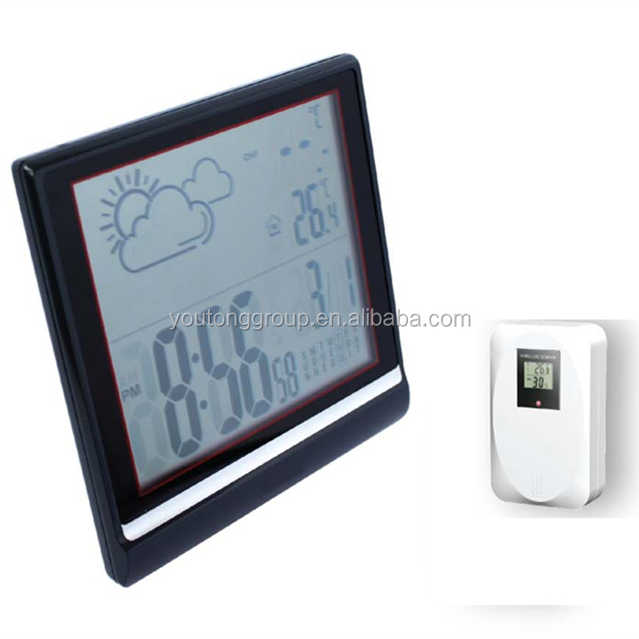 Barometric Reading Display Weather Station With CE Rohs Certification