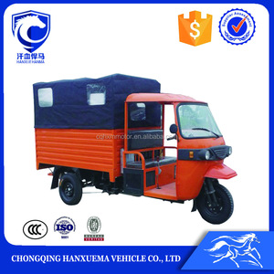 China semi-closed cabin taxi tricycle for adult