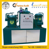 Used oil cleaning system/Diesel engine oil purifier/transformer oil purifier equipment