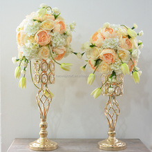 Hot selling floral wedding centerpiece flower stand table decoration