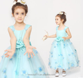 dress designs for girls scoop neckline sleeveless Shoulder-straps baby dresses ED766