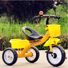 Cheap Small baby tricycle for children/simple children lexus tricycle/child tricycle seats with basket