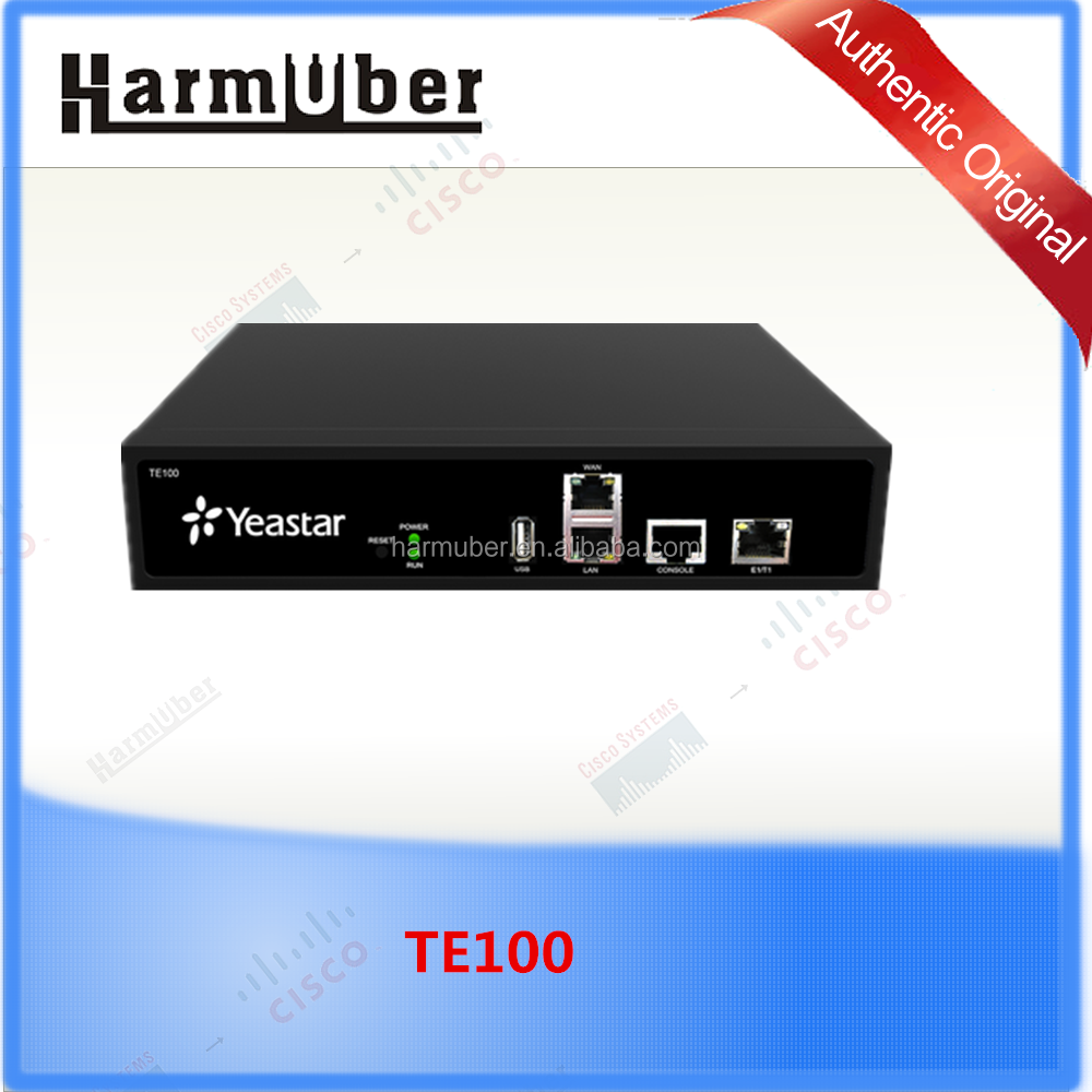 Yeastar PRI VoIP Gateway TE100,Single port VoIP E1/ T1 /J1 gateway