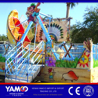 Henan cheap pirate ship playground equipment child games mini/small pirate ship for sale