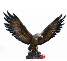 casting outdoor bronze eagle sculpture