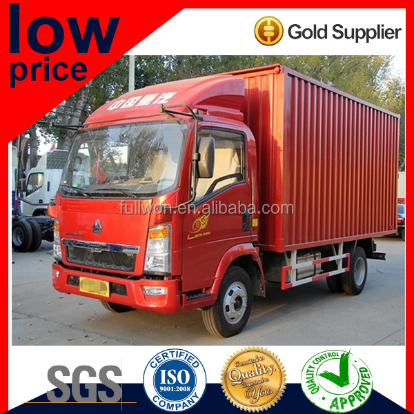 Big Promotion Factory Directly 16 Cubic Light Cargo 3-4L Van Truck for Sale