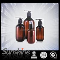100ml 150ml 200ml PET Plastic Amber Lotion Bottle, 300ml 400ml 500ml Shampoo Plastic Bottle