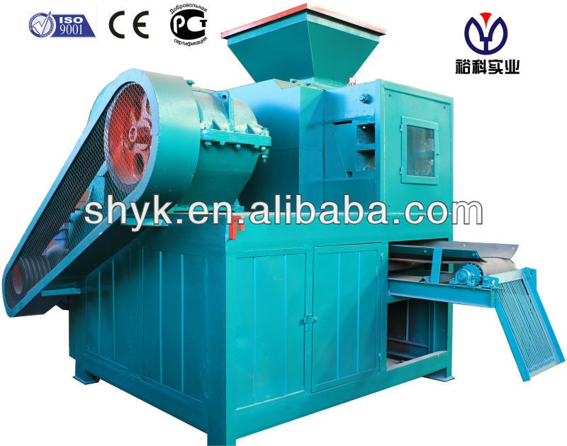 energy saving small sawdust briquette charcoal making machine