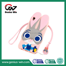 3D Cartoon Soft eco-friendly Silicon phone cases cover