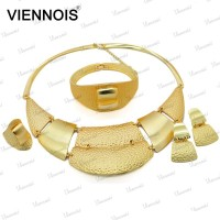 2015 Viennois wholesale dubai gold jewelry set stock