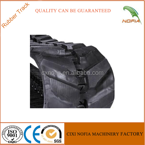 Kubota KX080-3 450*81.5 rubber crawler for machinery