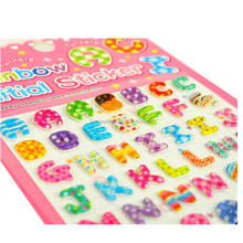 High Quality Cartoon Design Foam Puffy Sticker For Kids